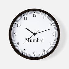 Mumbai Classic Newsroom Wall Clock