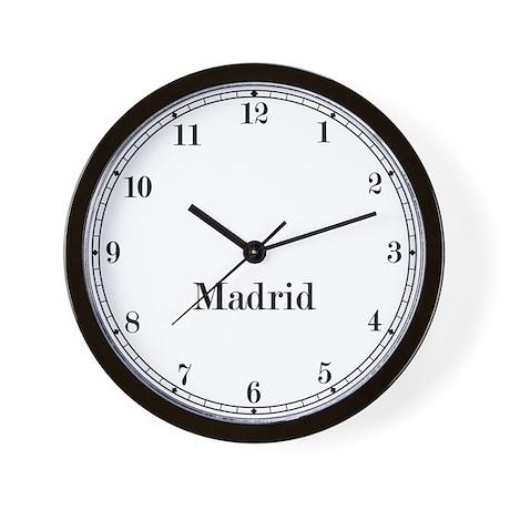 Madrid Classic Newsroom Wall Clock