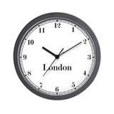 London time zone clock Wall Clocks