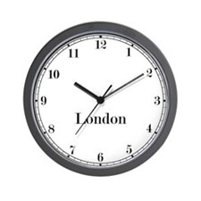 London Classic Newsroom Wall Clock