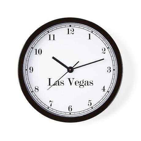 Las Vegas Classic Newsroom Wall Clock