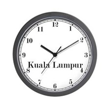 Kuala Lumpur Classic Newsroom Wall Clock