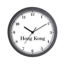 Hong Kong Classic Newsroom Wall Clock