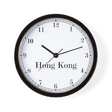 Hong Kong Classic Newsroom Wall Clock