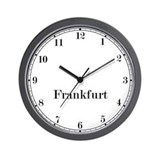 Frankfurt wall clock Basic Clocks