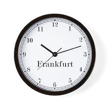 Frankfurt Classic Newsroom Wall Clock