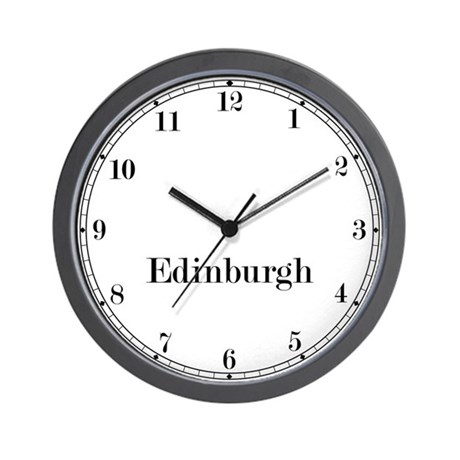 Edinburgh Classic Newsroom Wall Clock