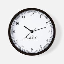 Cairo Classic Newsroom Wall Clock