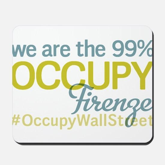 Occupy Firenze Mousepad