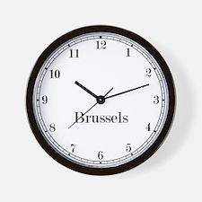 Brussels Classic Newsroom Wall Clock
