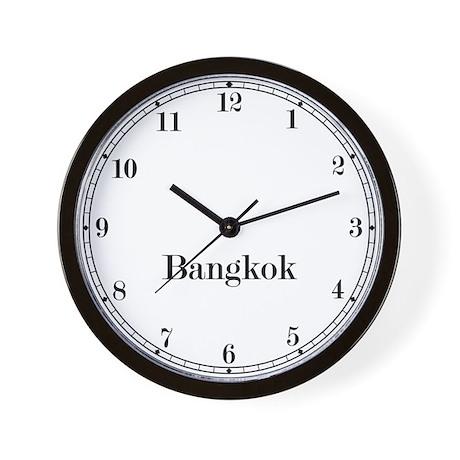 Bangkok Classic Newsroom Wall Clock