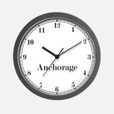 Anchorage Classic Newsroom Wall Clock