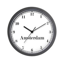 Amsterdam Classic Newsroom Wall Clock