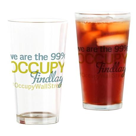 Occupy Findlay Drinking Glass