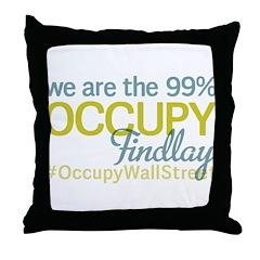 Occupy Findlay Throw Pillow