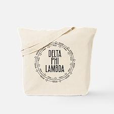 Delta Phi Lambda Arrows Tote Bag