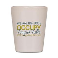 Occupy Fergus Falls Shot Glass