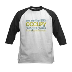 Occupy Fergus Falls Kids Baseball Jersey