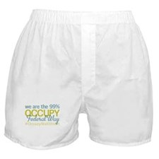 Occupy Federal Way Boxer Shorts