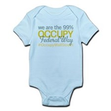 Occupy Federal Way Infant Bodysuit