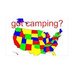 got camping? 38.5 x 24.5 Wall Peel