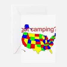 got camping? Greeting Card
