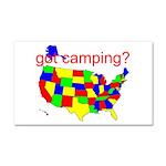 got camping? Car Magnet 20 x 12