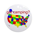 got camping? Ornament (Round)
