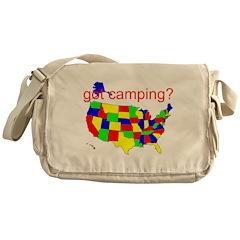 got camping? Messenger Bag