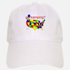 got camping? Baseball Baseball Cap