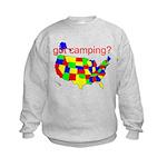 got camping? Kids Sweatshirt