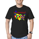 got camping? Men's Fitted T-Shirt (dark)