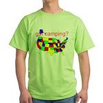 got camping? Green T-Shirt
