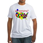 got camping? Fitted T-Shirt