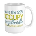 Occupy Fayetteville Large Mug
