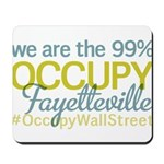 Occupy Fayetteville Mousepad