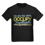Occupy Fayetteville Kids Dark T-Shirt