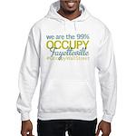 Occupy Fayetteville Hooded Sweatshirt
