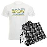 Occupy Fayetteville Men's Light Pajamas