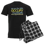 Occupy Fayetteville Men's Dark Pajamas