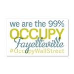 Occupy Fayetteville Car Magnet 20 x 12