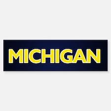 Michigan Bumper Bumper Bumper Sticker