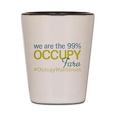 Occupy Faro Shot Glass