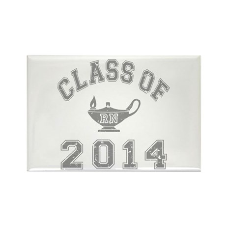 Class Of 2014 RN Rectangle Magnet (10 pack)