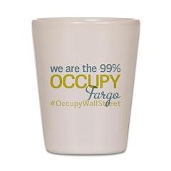 Occupy Fargo Shot Glass