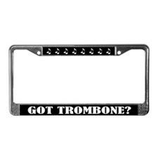 Trombone Quote License Plate Frame Gift