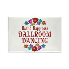 Ballroom Happiness Rectangle Magnet
