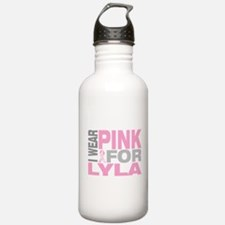 I wear pink for Lyla Water Bottle