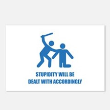Stupidity Postcards (Package of 8)