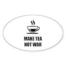 Make tea not war Decal